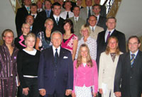 President Arnold Rüütel received Estonian athletes who had distinguished themselves through good performance in sports in 2005