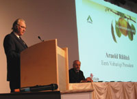 President Arnold Rüütel participated in a farm conference